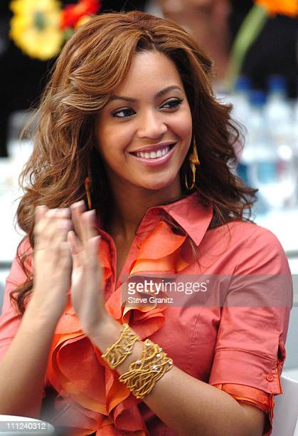 Beyonce of Destiny's Child during 2005 World Children's Day at The Los Angeles Ronald McDonald House at Ronald McDonald House in Hollywood California...
