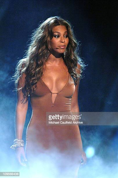 Beyonce of Destiny's Child preforms Cater 2 U during 2005 BET Awards Show at Kodak Theatre in Hollywood California United States