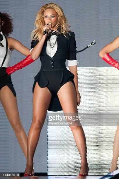 Beyonce performs during Surprise Oprah A Farewell Spectacular at the United Center on May 17 2011 in Chicago Illinois