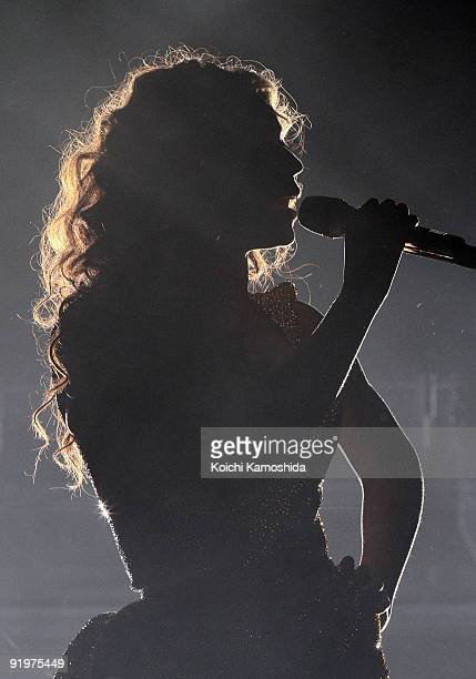 Beyonce performs onstage at Saitama Super Arena on October 18, 2009 in Saitama, Japan.