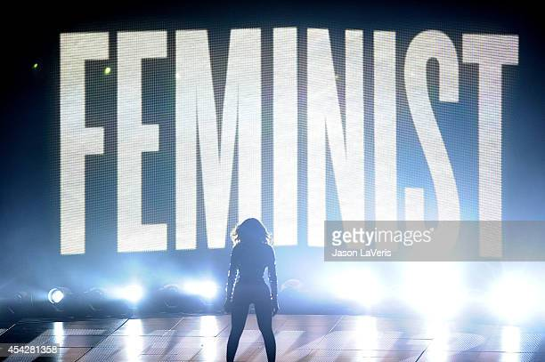 Beyonce performs onstage at the 2014 MTV Video Music Awards at The Forum on August 24 2014 in Inglewood California