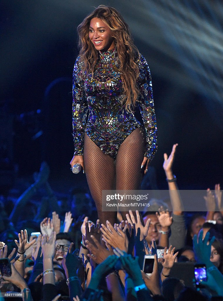 Beyonce performs onstage during the 2014 MTV Video Music Awards at The Forum on August 24, 2014 in Inglewood, California.