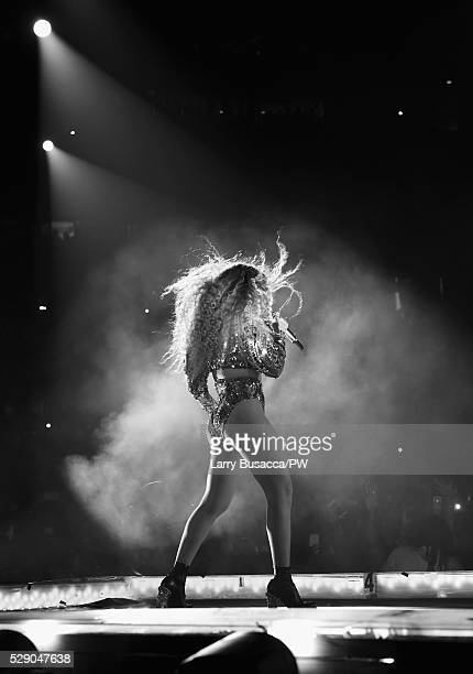Beyonce performs onstage during 'The Formation World Tour' at NRG Stadium on May 7, 2016 in Houston, Texas. Beyonce wears a custom Atsuko Kudo...