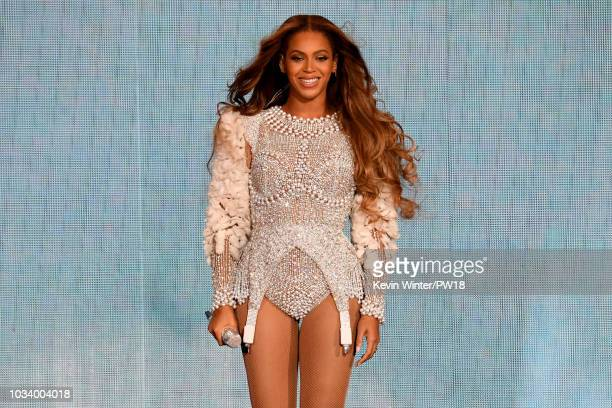 Beyonce performs onstage during the On the Run II Tour at NRG Stadium on September 15 2018 in Houston Texas