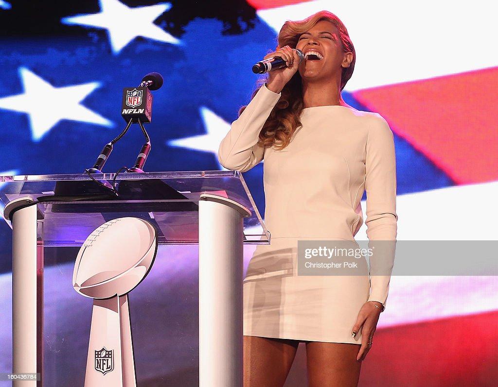 Pepsi Super Bowl XLVII Halftime Show Press Conference : News Photo