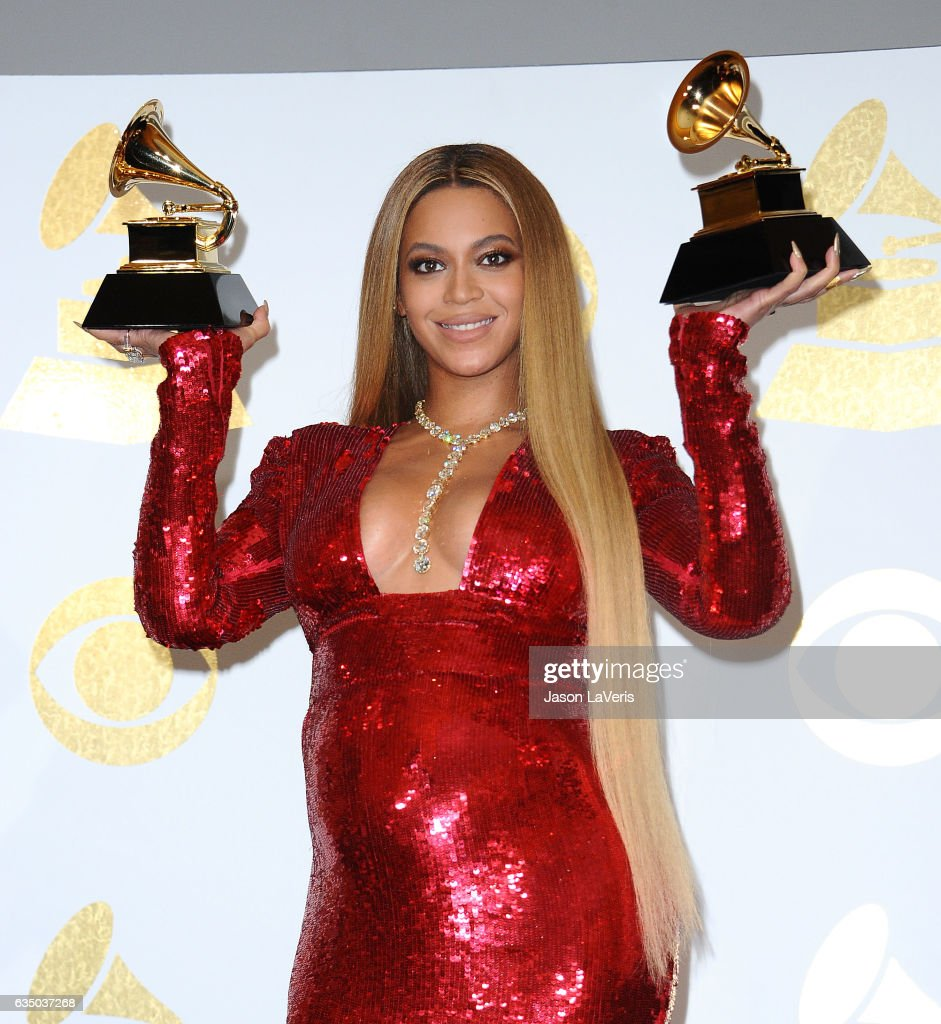 59th GRAMMY Awards - Press Room : News Photo