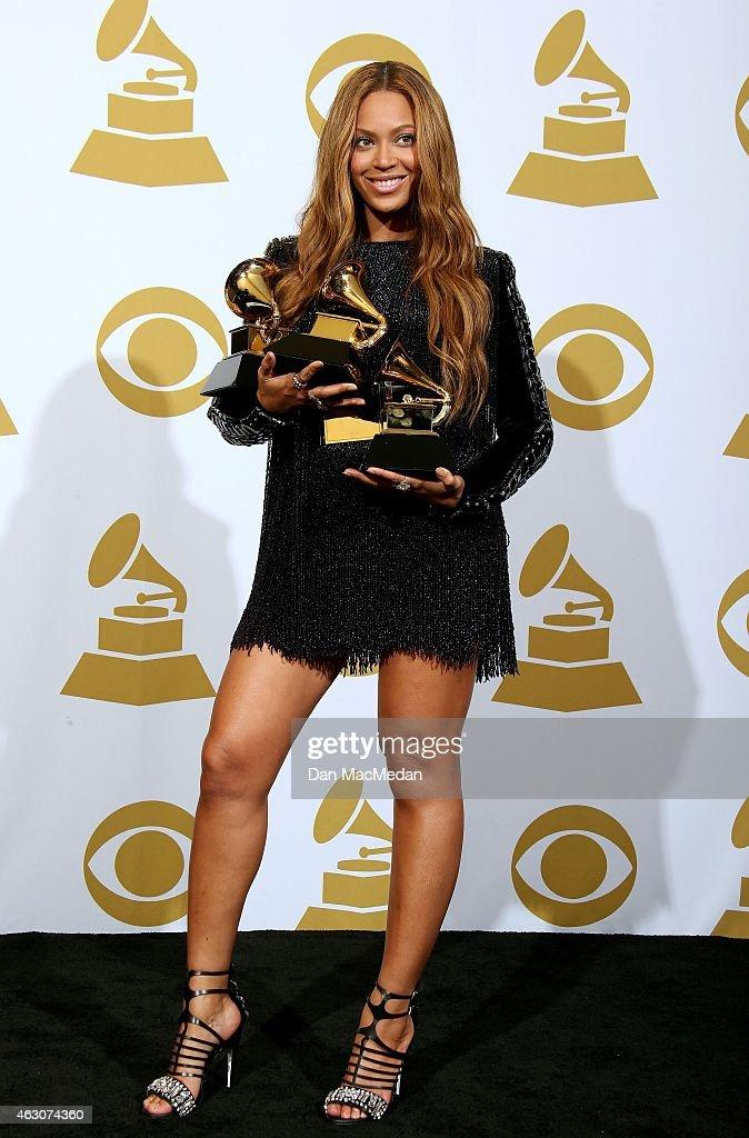 57th GRAMMY Awards - Press Room : News Photo
