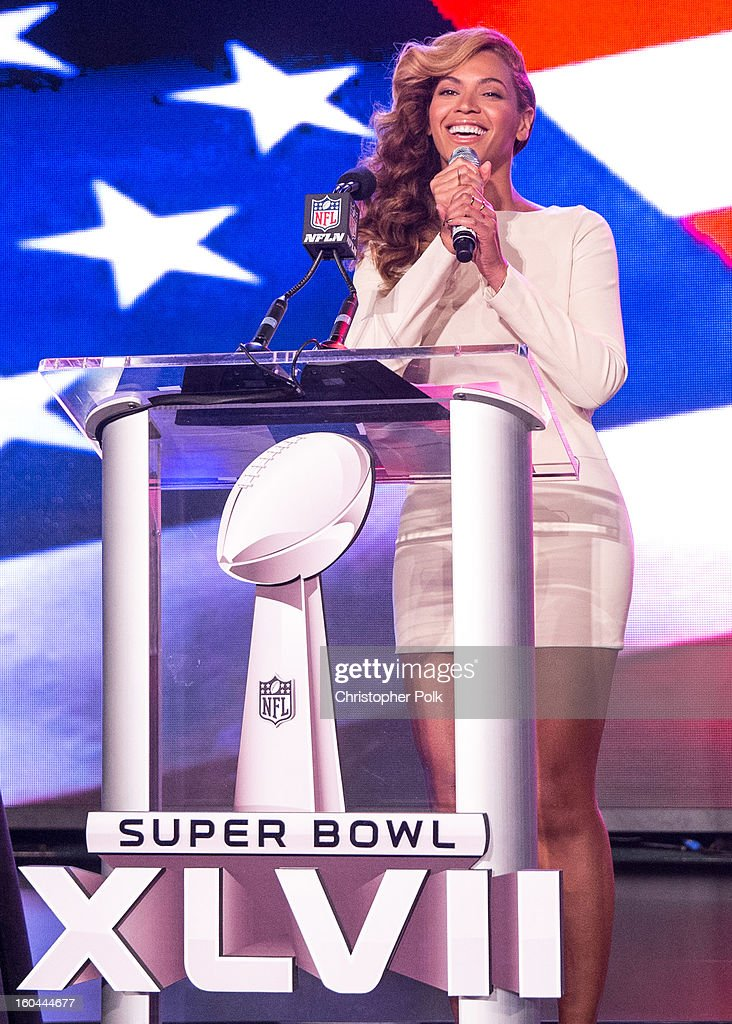 Pepsi Super Bowl XLVII Halftime Show Press Conference : News Photo