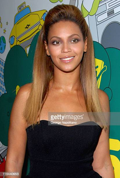 Beyonce visits MTV's TRL at MTV studios in Times Square on October 14 2008 in New York City