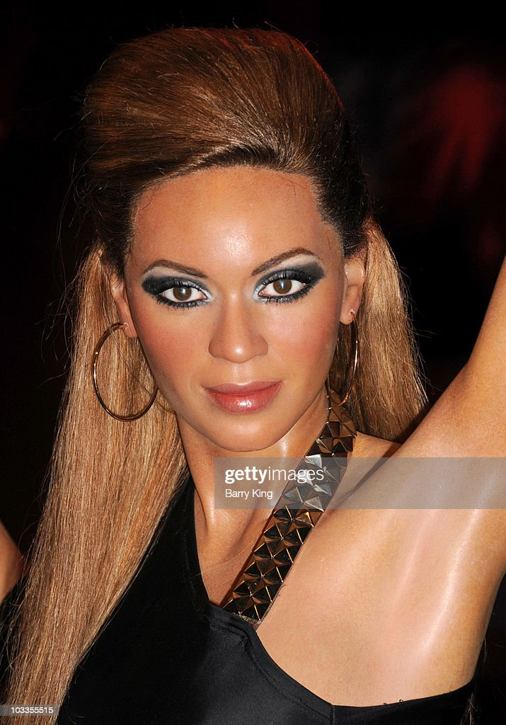Beyonce wax figure at the Official Los Angeles Event Celebrating Harvey Milk Day at Madame Tussaud's Hollywood on May 22, 2010 in Hollywood, California.