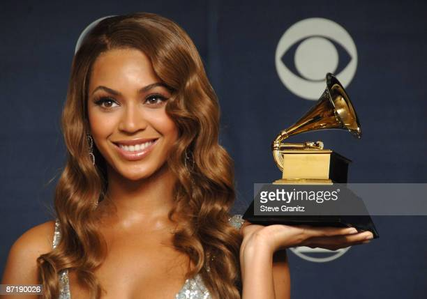 Beyonce winner Best Contemporary RB Album for 'B'Day'