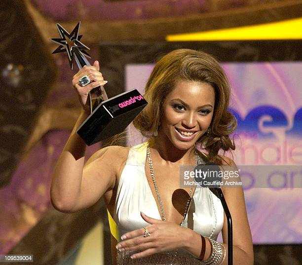 Beyonce winner for Best Female RB Artist Award during 4th Annual BET Awards Show at Kodak Theatre in Hollywood California United States