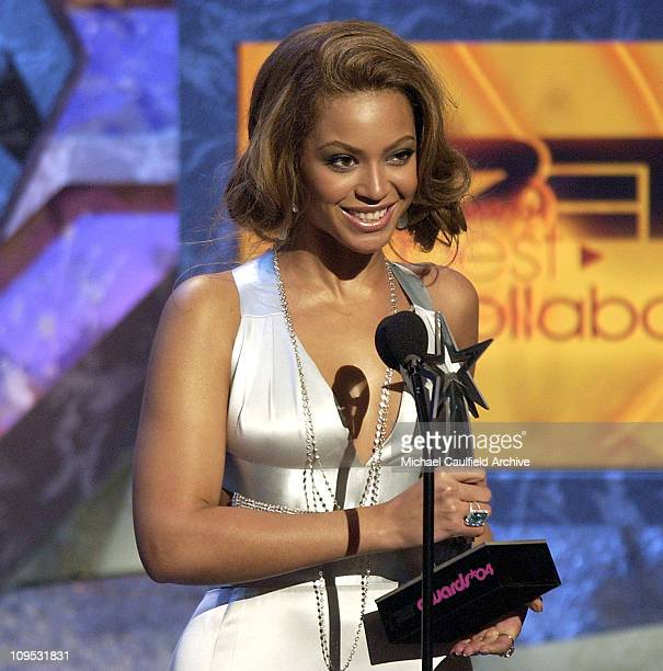 Beyonce winner of the Best Collaboration Award for 'Crazy In Love' feat JayZ