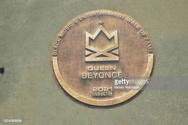 Beyonce's attends the Black American Music Association and Georgia Entertainment Caucus Inaugural Induction Ceremony for Black Music And...