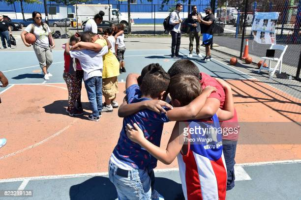 Beyond Sport United Community In Action event in Red Hook Brooklyn New York on July 26 2017