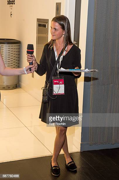 Beyond Sports Georgie Ffennell at an Interactive session during the Beyond Sport United 2016 at Barclays Center on August 9 2016 in Brooklyn New York