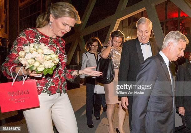 - Bezoek Koning en Koningin aan Gent, met gala-evenement van de steunraad Oost-Vlaanderen voor de Koning Boudewijnstichting - 8e soirée de gala...