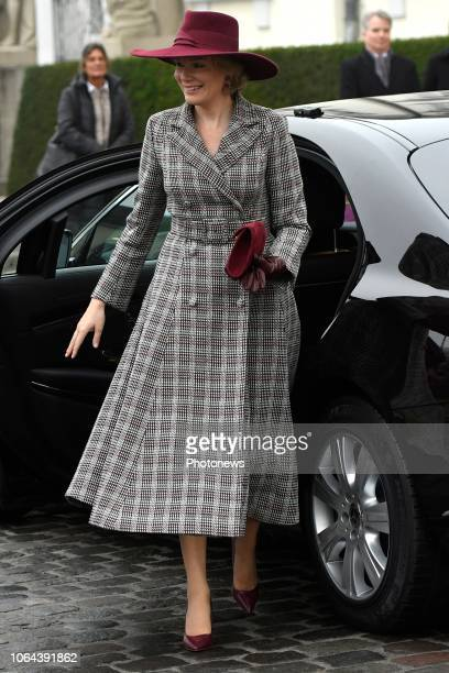 Bezoek van de Koning en de Koningin aan Berlijn in het kader van de 100ste verjaardag van het einde van de Eerste Wereldoorlog Visite du Roi et de la...