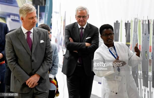 Bezoek van Koning Filip aan het Studiecentrum voor kernenergie in het kader van het project MYRRHA Visite du Roi Philippe au Centre d'étude de...