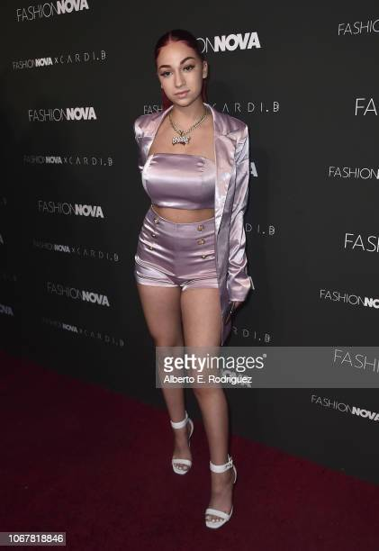 Bhad Bhabie attends the Fashion Nova x Cardi B Collaboration Launch Event at Boulevard3 on November 14 2018 in Hollywood California