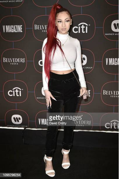 Bhad Bhabie attends the Warner Music Group PreGrammy Celebration at Nomad Hotel Los Angeles on February 7 2019 in Los Angeles California