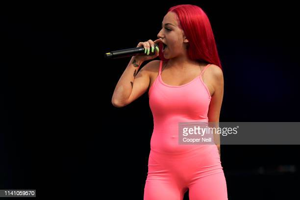 Bhad Bhabie performs during JMBLYA at Fair Park on May 3 2019 in Dallas Texas
