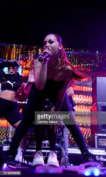 Bhad Bhabie performs onstage during Day 2 of Billboard Hot 100 Festival at Northwell Health at Jones Beach Theater on August 19 2018 in Wantagh New...