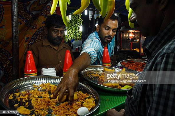 Bhaji made by covering vegetables like onion,banana,green chili,cauliflower,etc and sometimes eggs with specially made flour coatings and then frying...