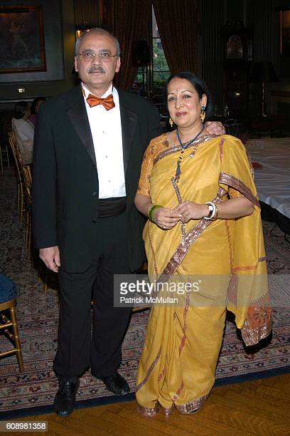 Bharat Bhise and Swati Bhise attend 3rd ANNUAL SANSKRITI BENEFIT at New York Racquet Tennis Club on May 24 2007 in New York City