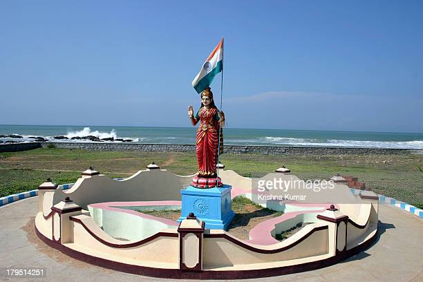 bharat mata - indian flag stock pictures, royalty-free photos & images