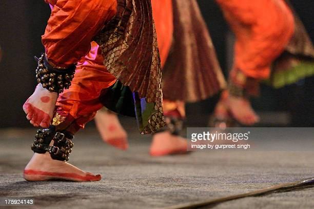 bharat natyam - punjab india stock photos and pictures