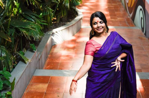 Bharatanatyam and Mohiniyattam dancer Dr Rekha Raju during an exclusive interview with Hindustan Times on November 2 2017 in Pune India
