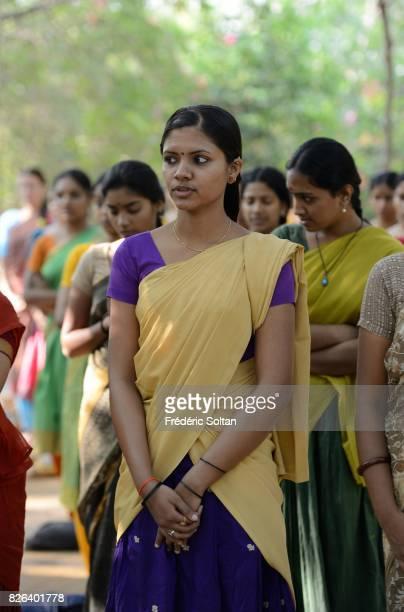 Bharatanatyam Classical Dance from Kalakshetra Foundation Morning prayer under a holy Banyan The Foundation was established in 1936 by Rukmini Devi...