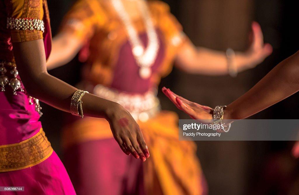 Bharatanatyam Dance, Mylapore, Chennai : Stock Photo