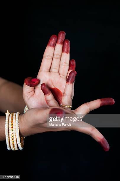 Bharatanatyam Hand Mudras