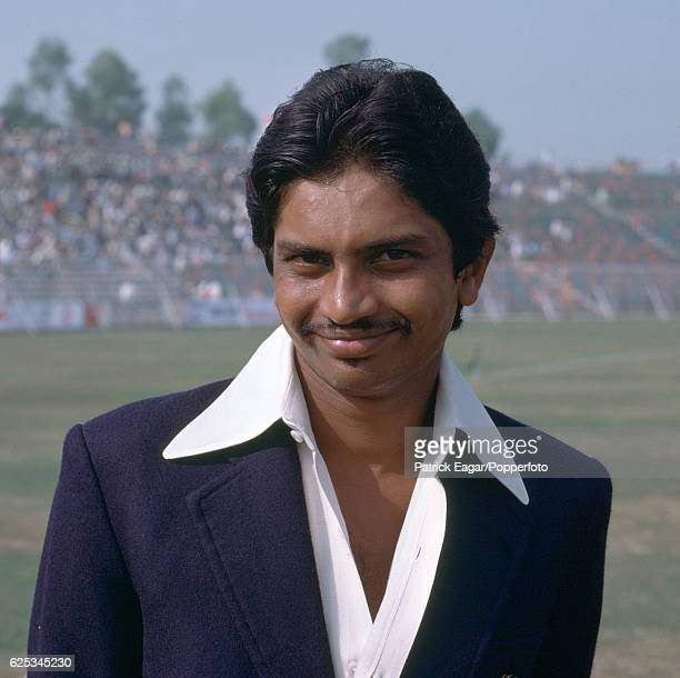 Bharath Reddy of India during the 2nd Test match between Pakistan and India at the Gaddafi Stadium Lahore Pakistan 27th October 1978