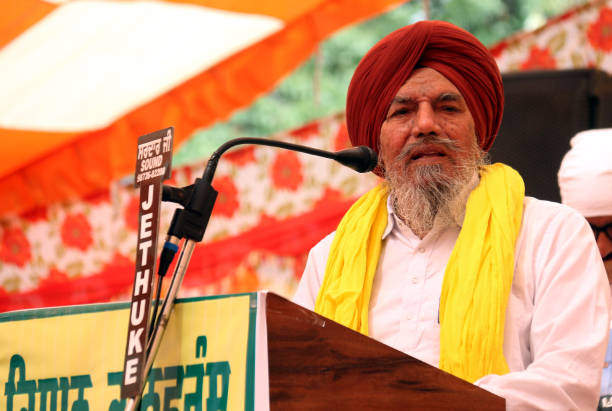 IND: Kisan Union Leaders Address A Rally On The Occasion Of Baisakhi In Bathinda