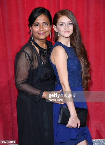 Bharti Patel attends the British Soap Awards at The Lowry Theatre on June 3 2017 in Manchester England