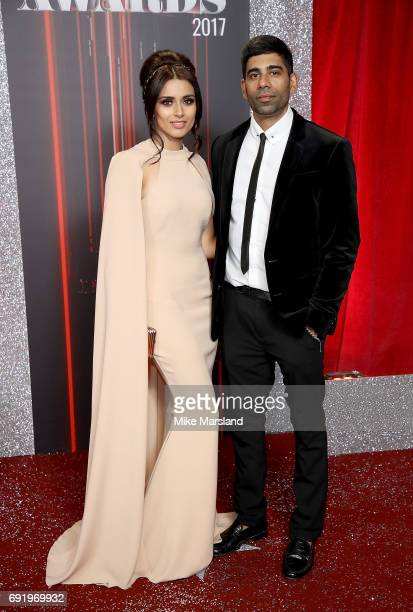 Bhavna Limbachia and guest attend The British Soap Awards at The Lowry Theatre on June 3 2017 in Manchester England The Soap Awards will be aired on...