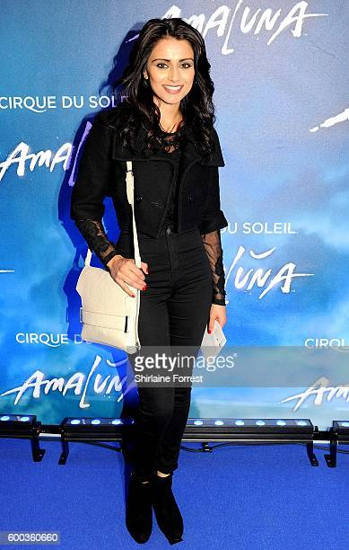 Bhavna Limbachia arrives at the press night for Cirque Du Soleil's 'Amaluna' at The Big Top Intu Trafford Centre on September 7 2016 in Manchester...