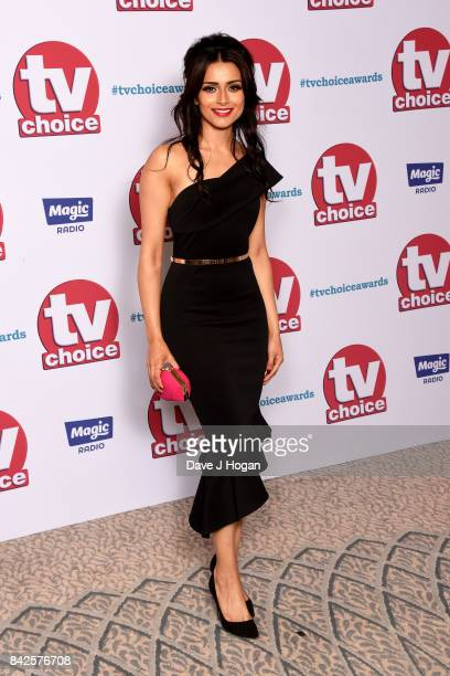 Bhavna Limbachia arrives at the TV Choice Awards at The Dorchester on September 4 2017 in London England