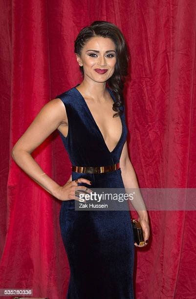 Bhavna Limbachia arrives for British Soap Awards 2016 at Hackney Empire on May 28 2016 in London England