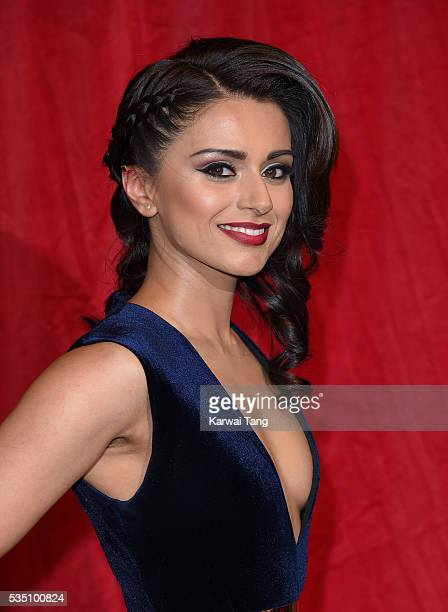 Bhavna Limbachia arrives for the British Soap Awards 2016 at the Hackney Town Hall Assembly Rooms on May 28 2016 in London England