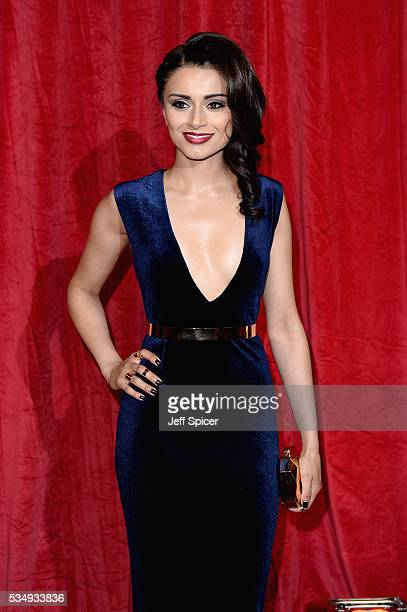 Bhavna Limbachia attends the British Soap Awards 2016 at Hackney Empire on May 28 2016 in London England