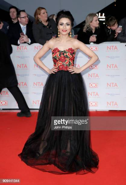 Bhavna Limbachia attends the National Television Awards 2018 at the O2 Arena on January 23 2018 in London England