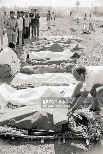 Bhopal Gas Tragedy victim in Madhya Pradesh