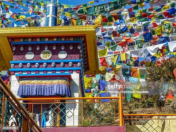 Bhuddist Temple in Dharamsala