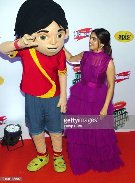 Bhumi Pedneka attends the Nickelodeon The Kids Choice Awards 2019 on December 202019 in Mumbai India