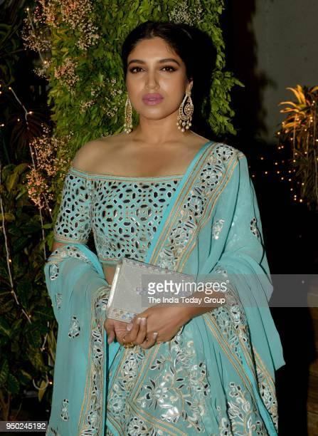 Bhumi Pednekar at Saudamini Mattus wedding reception in Mumbai