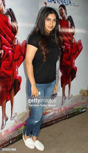 Bhumi Pednekar during the special screening of movie Nil Battey in Mumbai